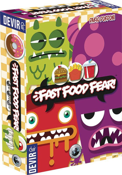 FAST FOOD FEAR CARD GAME (C: 0-0-1)