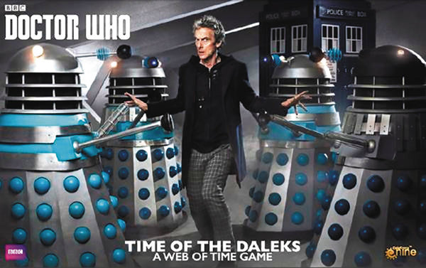 DOCTOR WHO TIME OF THE DALEKS BOARD GAME (C: 0-1-2)