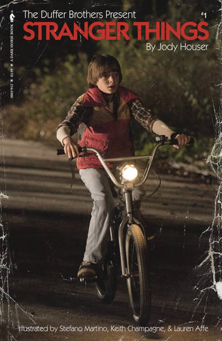 STRANGER THINGS #1 CVR D SATTERFIELD PHOTO VAR