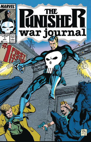 TRUE BELIEVERS PUNISHER WAR JOURNAL BY POTTS & LEE #1