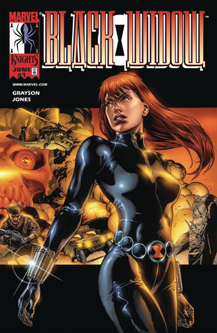 TRUE BELIEVERS BLACK WIDOW BY GRAYSON & JONES #1