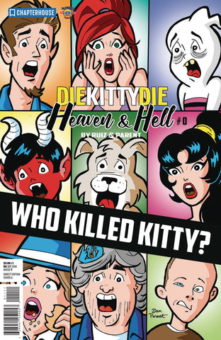 DIE KITTY DIE HEAVEN AND HELL #0
