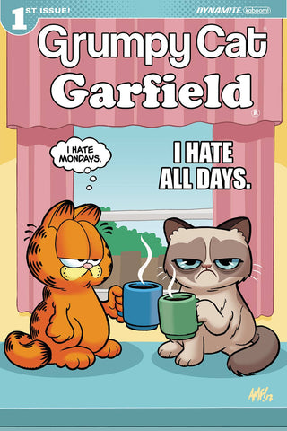 GRUMPY CAT GARFIELD #1 (OF 3) CVR D FLEECS