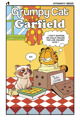 GRUMPY CAT GARFIELD #1 (OF 3) CVR F MURPHY COMIC STRIP