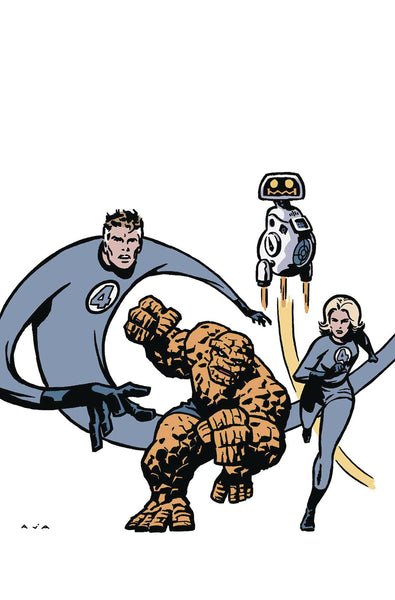 DOCTOR STRANGE #4 AJA RETURN OF FANTASTIC FOUR VAR