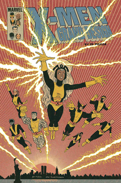 X-MEN GRAND DESIGN SECOND GENESIS #2 (OF 2) PISKOR VAR