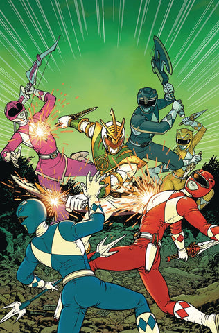MIGHTY MORPHIN POWER RANGERS SHATTERED GRID #1 BURNHAM INCV