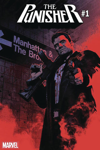 PUNISHER #1 DF MATTHEW ROSENBURG SGN