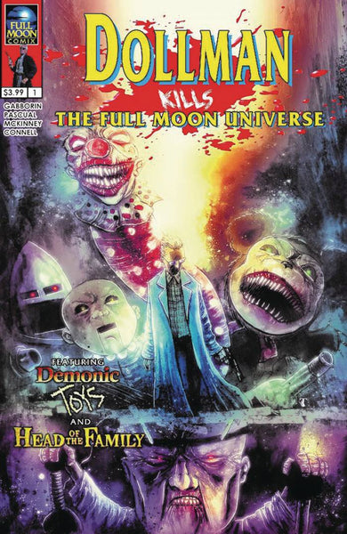 DOLLMAN KILLS THE FULL MOON UNIVERSE #1 CVR A TEMPLESMITH