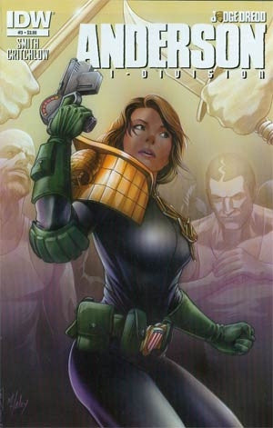 Judge Dredd Anderson Psi-Division #3 Cover A