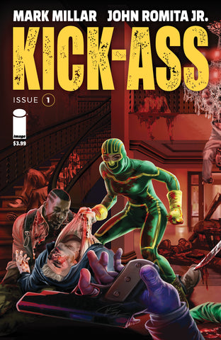 KICK-ASS #1 RON LEARY COMICXPOSURE EXCLUSIVE