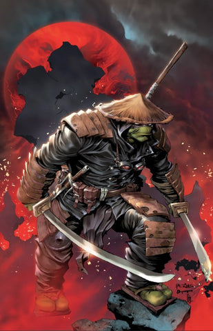 TEENAGE MUTANT NINJA TURTLES THE LAST RONIN #1 (OF 5) RAYMOND BERMUDEZ VIRGIN EXCLUSIVE TMNT
