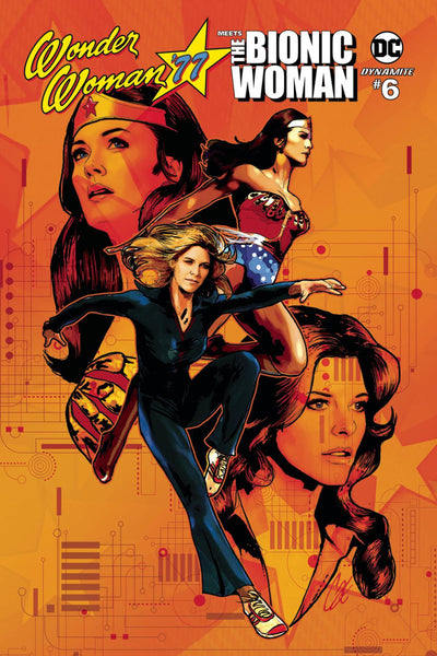 WONDER WOMAN 77 BIONIC WOMAN #6 (OF 6) CVR A STAGGS