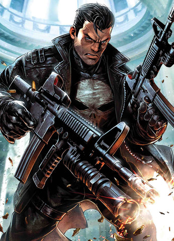 PUNISHER #11 MAXX LIM MARVEL BATTLE LINES VAR