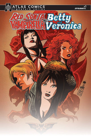 RED SONJA VAMPIRELLA BETTY VERONICA #1 ATLAS ED