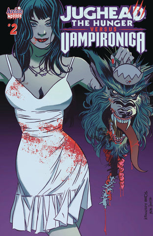 JUGHEAD HUNGER VS VAMPIRONICA #2 CVR A PAT & TIM KENNEDY (MR