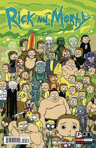 RICK & MORTY #50 CVR C HORAK MORTY CONNECTING