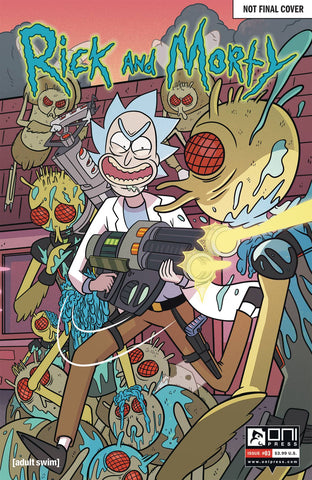 RICK & MORTY #3 50 ISSUES SPECIAL VAR