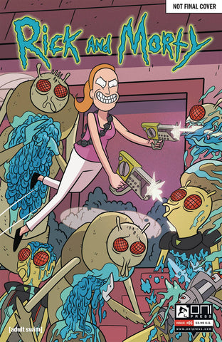 RICK & MORTY #5 50 ISSUES SPECIAL VAR