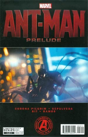 MARVELS ANT-MAN PRELUDE #2