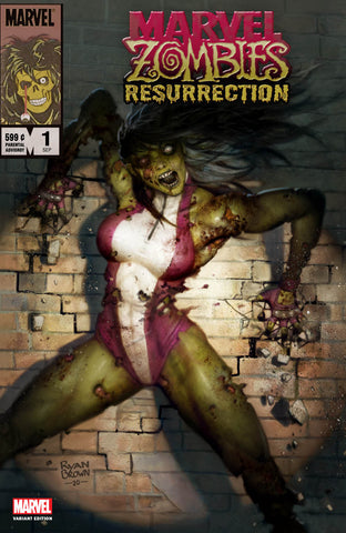 MARVEL ZOMBIES RESURRECTION #1 RYAN BROWN EXCLUSIVE