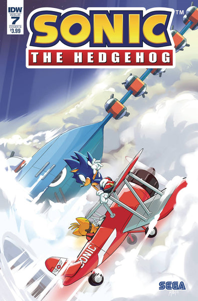 SONIC THE HEDGEHOG #7 CVR B THOMAS