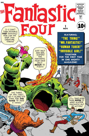 TRUE BELIEVERS FANTASTIC FOUR #1