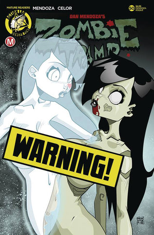 ZOMBIE TRAMP ONGOING #50 CVR F MENDOZA RISQUE (MR)