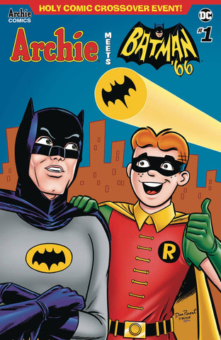 ARCHIE MEETS BATMAN 66 #1 CVR E PARENT & BONE