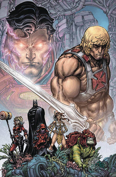 INJUSTICE VS HE MAN #1 DF SGN TIM SEELY