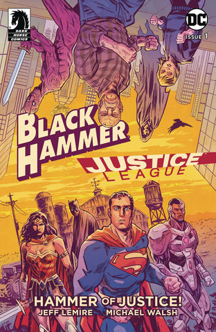 BLACK HAMMER JUSTICE LEAGUE #1 (OF 5) CVR A WALSH