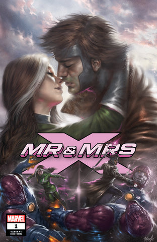 MR AND MRS X #1 COMICXPOSURE LUCIO PARRILLO VAR