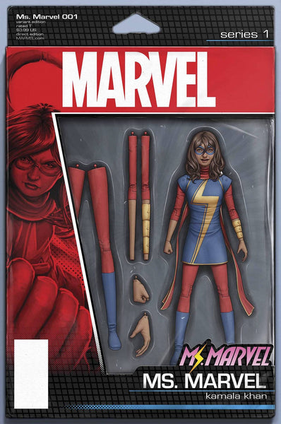 MS MARVEL #1 CHRISTOPHER ACTION FIGURE VAR
