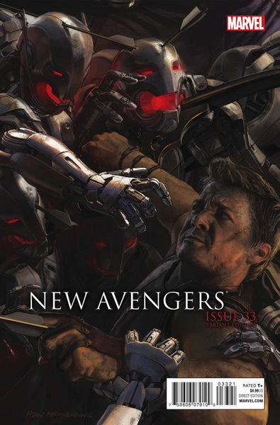 NEW AVENGERS #33 AU MOVIE CONNECTING D VAR TRO