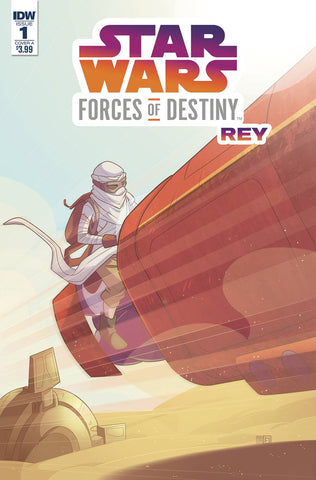 STAR WARS ADV FORCES OF DESTINY REY CVR A