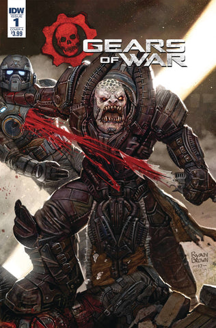 GEARS OF WAR RISE OF RAAM #1 CVR A BROWN