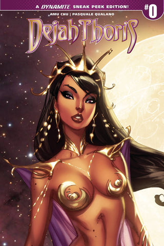 DEJAH THORIS #0 CVR D 100 COPY CAMPBELL INCV