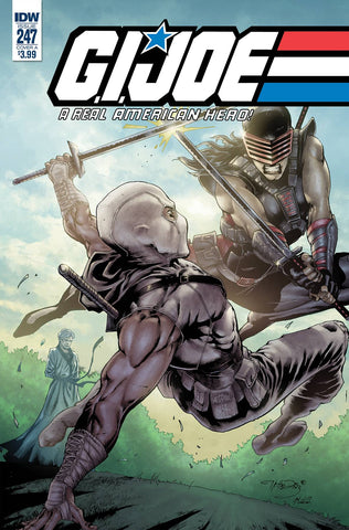 GI JOE A REAL AMERICAN HERO #247 CVR A DIAZ