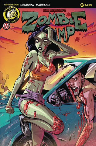 ZOMBIE TRAMP ONGOING #42 CVR A CELOR