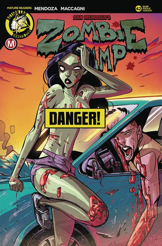 ZOMBIE TRAMP ONGOING #42 CVR B CELOR RISQUE