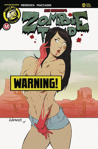 ZOMBIE TRAMP ONGOING #42 CVR F WHITAKER RISQUE