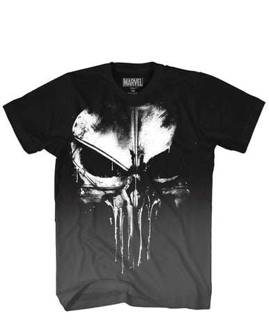 MARVEL PUNISHER FRANK CASTLE BLACK T/S XXL