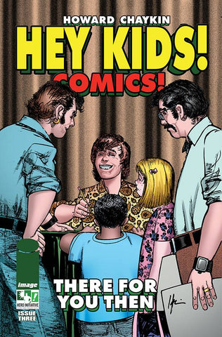 HEY KIDS COMICS #5 (OF 5) CVR B HERO INITIATIVE VAR