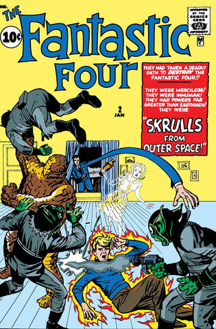 TRUE BELIEVERS FANTASTIC FOUR SKRULLS #1