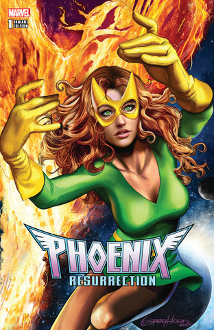 PHOENIX RESURRECTION RETURN JEAN GREY #1 (OF 5) COMICXPOSURE GREG HORN EXCLUSIVE