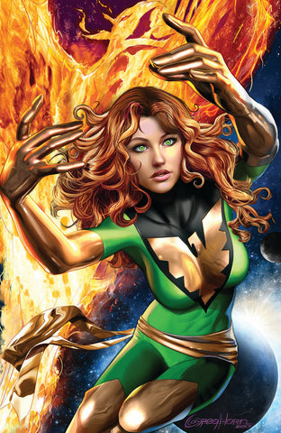 PHOENIX RESURRECTION RETURN JEAN GREY #1 (OF 5) COMICXPOSURE GREG HORN 2 PACK EXCLUSIVE