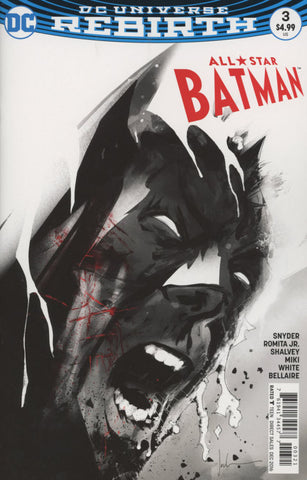 ALL STAR BATMAN #3 COVER B JOCK VARIANT
