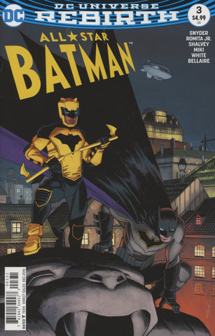 ALL STAR BATMAN #3 COVER C DECLAN SHALVEY VARIANT