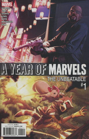 A YEAR OF MARVELS UNBEATABLE #1 1ST PRINT