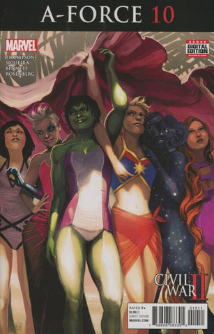 A-FORCE VOL 2 #10 1ST PRINT